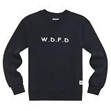 [에이지]AZ - WDFD CREWNECK (NAVY) 크루넥 스��셔츠 맨투맨