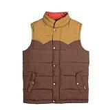 [폴러스터프]POLER STUFF - Guide Down Vest (Beaver/Camel)