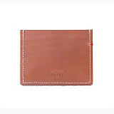 [모우]MOW - leather cardcase brown_카드지갑