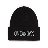 [피스메이커]PIECE MAKER - ONE DAY DOODLE KNIT BEANIE (BLACK) 비니