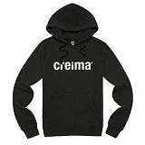 [크레이마] creima sec logo hood black 후드티