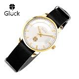 [Gluck]글륵 행운의 시계 GL2302-GWBK 나토 18mm 본사정품