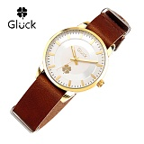 [Gluck]글륵 행운의 시계 GL2302-GWBR 나토 18mm 본사정품