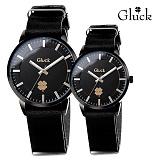 [Gluck]글륵 행운의 시계 GL1302 / GL2302 BKBK 커플시계 본사정품