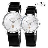 [Gluck]글륵 행운의 시계 GL1302 / GL2302 WHBK 커플시계 본사정품