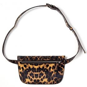 [옐로우스톤] 가죽 힙색 synthetic leather bag - ys2018lp 레오파드