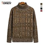 탑보이 - 연사 꽈배기 폴라니트 (KJS 057)_knit