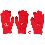 [피스메이커]PIECE MAKER - 3PCS OUR GAME IS NOT OVER KNIT SMART GLOVE (RED) 장갑 글러브