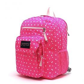 #클리어런스 [잔스포츠]JANSPORT - 디지털 스튜던트 (T19W01U - Fluorescent Pink Spots) 잔스포츠코리아 정품 AS가능 백팩 가방 스쿨백 데이백 데