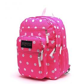 정품뱃지증정[잔스포츠]JANSPORT - 빅스튜던트 (TDN701U - Fluorescent Pink Spots) 잔스포츠코리아 정품 AS가능 백팩 가방 스쿨백 데이백 데일리백