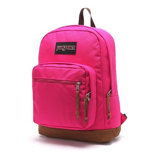 [클리어런스][사은품증정][잔스포츠]JANSPORT - 라이트팩 오리지널 (TYP701B - Cyber Pink) 잔스포츠코리아 정품 AS가능 백팩 가방 스쿨백 데이백 데일리백