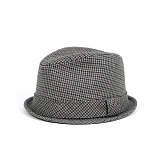 [뉴욕햇]NEWYORK HAT - 5500 HOUNDSTOOTH SHORTY (GREY) 페도라
