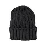 [뉴욕햇]NEWYORK HAT - 4699 CABLE CUFF (BLACK) 비니