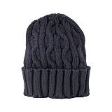 [뉴욕햇]NEWYORK HAT - 4699 CABLE CUFF (NAVY) 비니