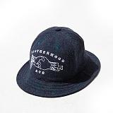 [AUB]에이유비 - BROTHERHOOD BUCKET HAT - NAVY_버킷햇_모자