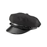 [뉴욕햇]NEWYORK HAT - 6019 CANVAS BRANDO BLACK 헌팅캡