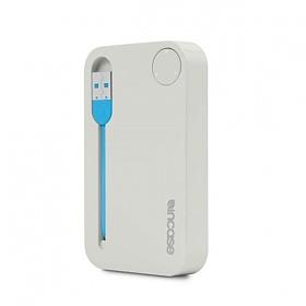 [노트 볼펜 증정][인케이스]INCASE - Portable Power 2500 EC20113 (Grey/Fluro Blue) 인케이스코리아정품 당일 무료배송 아이폰 보조배터리