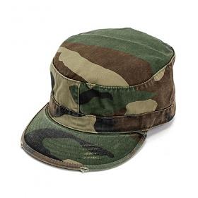 [로스코]ROTHCO - VINTAGE CAMO FATIGUE CAP 군모