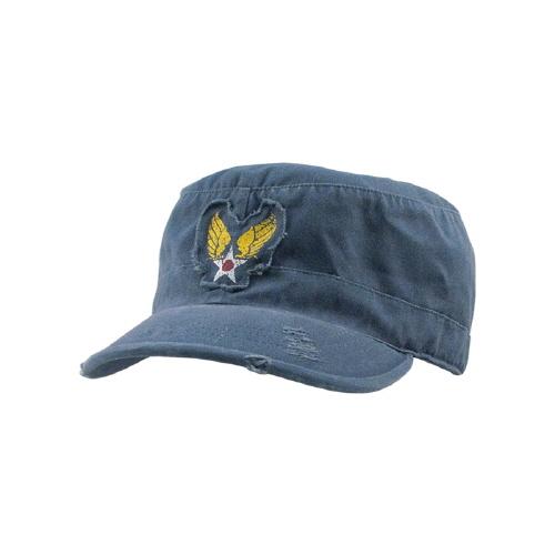 [로스코]ROTHCO - VINTAGE BLUE WASHED WINGED STAR FATIGUE CAP 군모