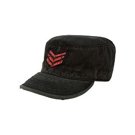 [로스코]ROTHCO - VINTAGE BLACK SGT STRIPES FATIGUE CAP 군모