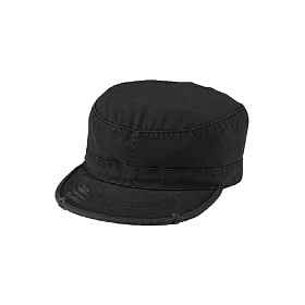 [로스코]ROTHCO - VINTAGE SOLID BLACK FATIGUE CAP 군모