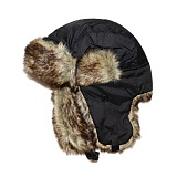 [로스코]ROTHCO - FUR FLYERS HAT (BLACK) 트래퍼