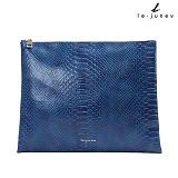 [리쥬네브]아나콘다 클러치 L1456 블루