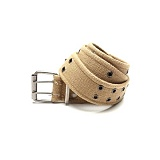 [로스코]ROTHCO - VINTAGE BELT DOUBLE PRONG BUCKLE KHAKI 벨트