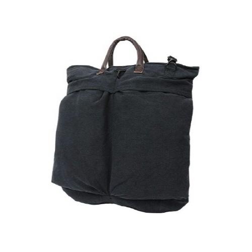[로스코]ROTHCO - 로스코 VINTAGE CANVAS HELMET SHOULDER BAG(BLACK) 숄더백 토트백 헬멧백