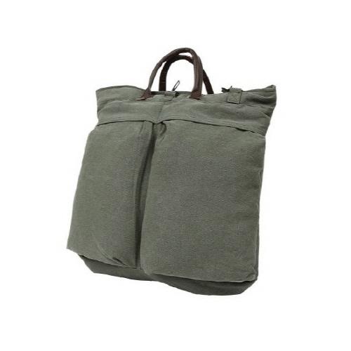 [로스코]ROTHCO - 로스코 VINTAGE CANVAS HELMET SHOULDER BAG(OLIVE) 숄더백 토트백 헬멧백