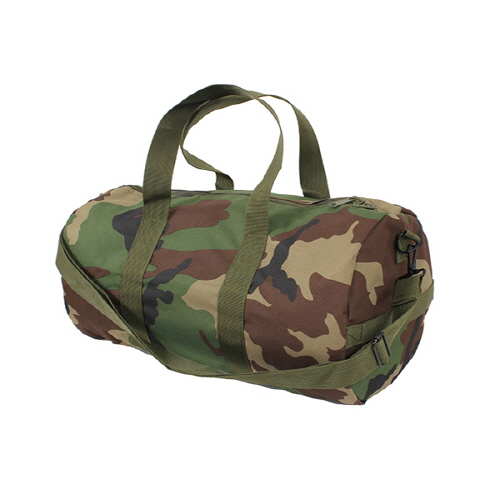[로스코]ROTHCO - 88555 WOODLAND CAMO SHOULDER BAG 보스턴백 더플백