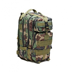 [로스코]ROTHCO - TRANSPORT BACKPACK WOODLAND (CAMO) 백팩