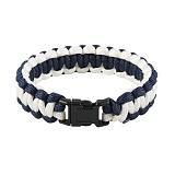 [로스코]ROTHCO - PARACORD BRACELET BLUE/WHITE 팔찌