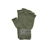 [로스코]ROTHCO - FINGERLESS WOOL GLOVES(OLIVE DRAB) 장갑