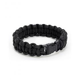 [로스코]ROTHCO - PARACORD BRACELET (BLACK) 팔찌