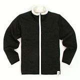 [유니어패럴] UNIAPPAREL 베이직 양털 스웨트 자켓 (차콜)양털 집업 자켓_재킷