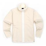 [유니어패럴] UNIAPPAREL 베이직 양털 스웨트 자켓 (크림)양털 집업 자켓_재킷