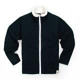 [유니어패럴] UNIAPPAREL 베이직 양털 스웨트 자켓 (네이비)양털 집업 자켓_재킷
