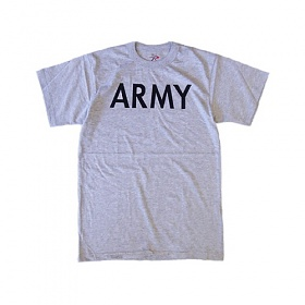 [로스코]ROTHCO - GREY MOISTURE WICKING ARMY P/T TEE 아미 반팔티