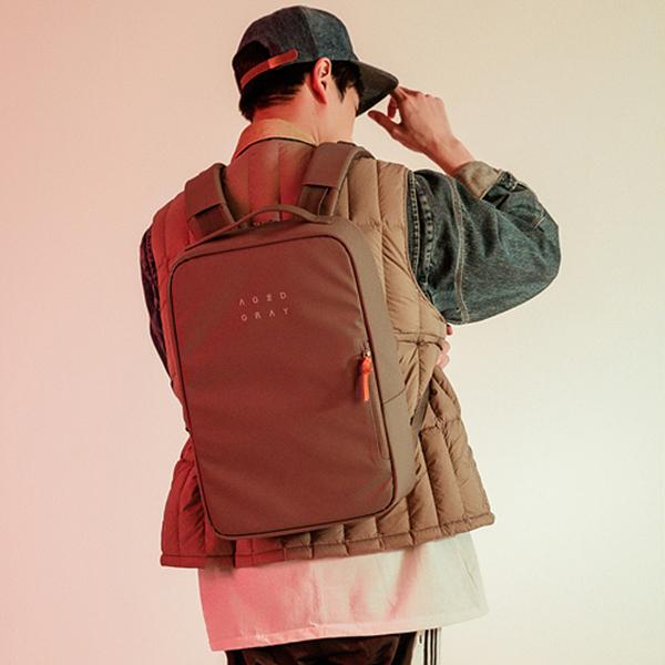[에이지그레이]AGEDGRAY - AA04FDG(dark gray) 백팩 가방 비즈니스 backpack