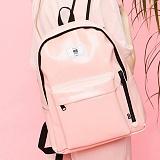 [복 EVENT][에이비로드] ABROAD - 클래식백팩 baby pink 핑크 가방 딸기우유 신학기 가방 학생가방 백팩