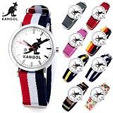 캉골(KANGOL) KG11232_3 CENTER 나토밴드 시계