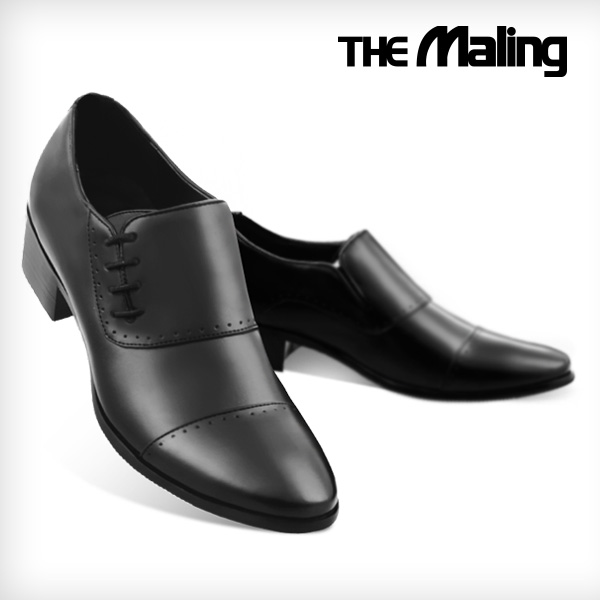 [더메일링] THE Mailing 4.5cm 키높이구두 가드너 블랙