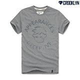 [크루클린] CROOKLYN 어피런스 반팔 티셔츠 TRS095 반팔티