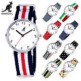 캉골(KANGOL)KG11055_2 SLIM 나토밴드 시계