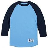 [Champion]T1397 챔피온 C 랭글러 7부 티셔츠 blue/blk 나그랑 래글런 롱 슬리브 정품 국내배송