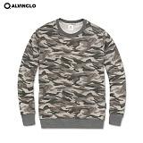 [앨빈클로]ALVINCLO mar-732G 시크한카모플라쥬!__ 맨투맨 크루넥 스��셔츠