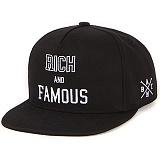 [앱놀머씽] Rich and Famous Snapback (Black)_스냅백_모자