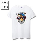 [엠블러]AMBLER 신상 반팔티셔츠 AS211-화이트
