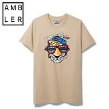 [엠블러]AMBLER 신상 반팔티셔츠 AS211-베이지